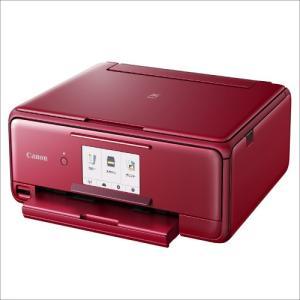 TS8130RD キヤノン インクジェット複合機TS8130 RED PIXUS TS8130RD|mnet