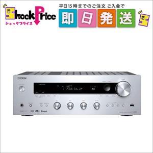 TX-8150 (S) ONKYO ネットワークステレオレシーバー ハイレゾ音源対応 シルバー TX-8150(S)|mnet