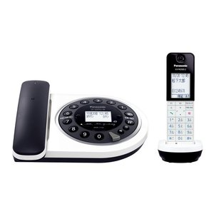 VEGDF61DLW パナソニック デジタルコードレス電話機 RU・RU・RU VE-GDF61DL-W|mnet