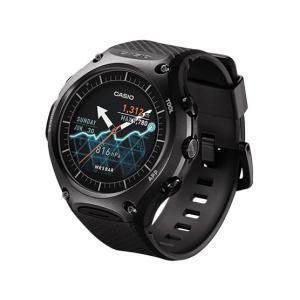 WSDF10BK カシオ Smart Outdoor Watch 5気圧防水 Android Wearスマートウォッチ ブラック WSDF10BK|mnet
