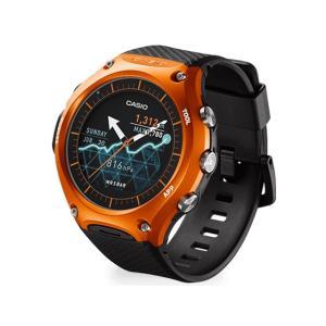 WSDF10RG カシオ Smart Outdoor Watch 5気圧防水 Android Wearスマートウォッチ オレンジ WSDF10RG|mnet