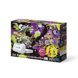 WUPSWAHT Wii U スプラトゥーン セット amiibo アオリ・ホタル付き WUPSWAHT 保障シール付|mnet
