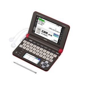 XDU6600RD カシオ エクスワード 電子辞書 生活教養モデル レッド XD-U6600RD|mnet