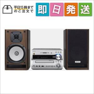 XNFR7TXD ONKYO Bluetooth/ CD/SD/USB/ハイレゾ対応 ミニコンポ シルバー X-NFR7TX(D) mnet