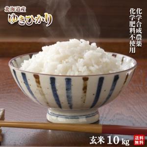 【新米】29年産 農薬・化学肥料不使用ゆきひかり10kg【送料無料・数量限定品】|moa