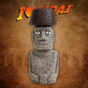 マナ・モアイ像 アドベンチャーバージョン 置物 グッズ|moai-store