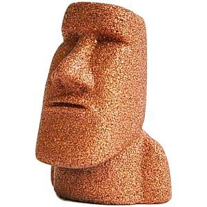 南三陸モアイファミリー 【 プレミアム ミニモアイ像 ブロンズ 銅 恋愛対人・癒し 】パワーストーン お守り おもしろ雑貨 誕生日プレゼント 贈り物|moai-store