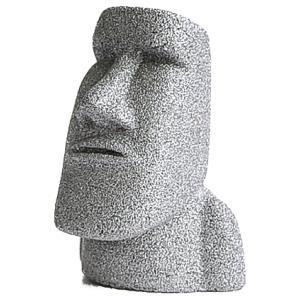 南三陸モアイファミリー 【 プレミアム ミニモアイ像 シルバー 銀 厄除け・才能開花 】 パワーストーン お守り おもしろ雑貨 誕生日プレゼント 贈り物|moai-store