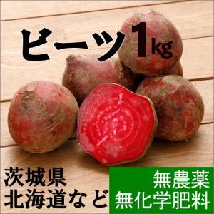 ビーツ、無農薬。飲む血液、と言われる栄養満点の野菜。 「ビーツ・1kg5個〜2個程度」