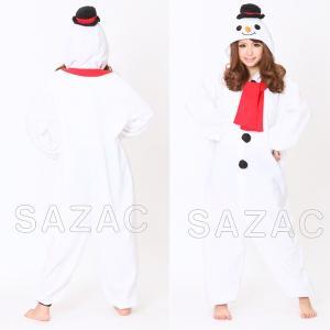 クリスマス コスプレ 衣装 雪だるま スノーマン コスチューム 大きいサイズ フリース スノーマン 着ぐるみ 2757|mobadepa