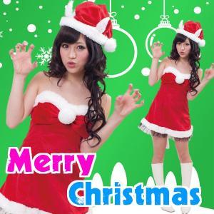 サンタ コスプレ レディース サンタ 衣装 安い サンタクロース コスチューム 猫耳サンタ ネコミミ ハーティーキャットサンタ|mobadepa