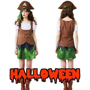 コスプレ 衣装 クリスマス ディズニー パイレーツ風 コスプレ 海賊 衣装 海賊 コスチューム ブラウンパイレーツ|mobadepa