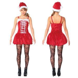 サンタ コスプレ レディース サンタ 衣装 レディース サンタクロース コスチューム バルーンフィットサンタ|mobadepa