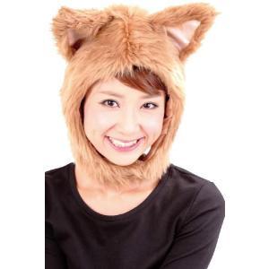 アニマル かぶり物 コスプレ衣装 コスチューム かぶりもの パーティグッズ 動物 マスク アニマル マスク もふもふわんわん|mobadepa