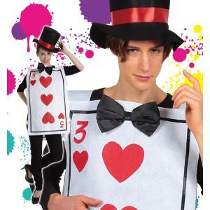 ハロウィン コスプレ 衣装 女性 男性  不思議の国のアリス トランプ兵隊風 コスチューム Mr.トランプ|mobadepa