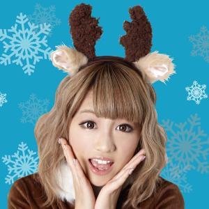 クリスマス コスプレ 衣装 フワフワトナカイカチューシャ 4560320849292 mobadepa