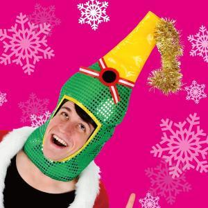 クリスマス コスチューム コスプレ 衣装 サンタクロース シャンパンヘッド 4560320852254|mobadepa