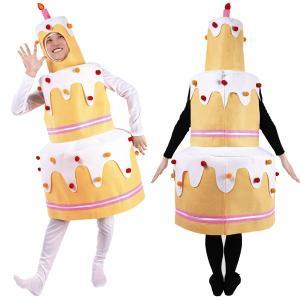 クリスマス コスプレ 衣装 男性 女性 仮装 コスチューム 大人用 着ぐるみ メンズ レディース 大きいサイズ ビッグケーキちゃん|mobadepa