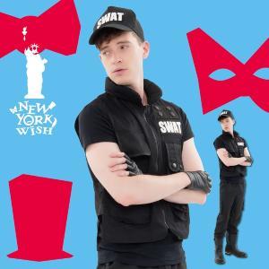 ハロウィン コスプレ 衣装 メンズ SWAT コスプレ 男性 仮装 コスチューム SWAT 制服 特殊部隊 NYW SWAT|mobadepa