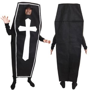 ハロウィン コスプレ 衣装 安い メンズ 着ぐるみ 個性的 男性 ユニセックス 仮装 コスチューム 流行り 棺桶 着ぐるみ|mobadepa