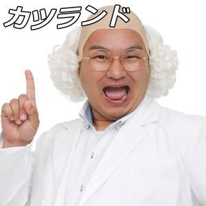 ウィッグ カツラ コスプレ 衣装 レディース メンズ 男性 女性 カツランド 博士くん 4560320863458|mobadepa