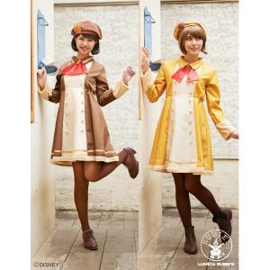 ハロウィン コスプレ 衣装 安い ディズニー レディース チップとデール 仮装 コスチューム 2着セット ペアセット|mobadepa