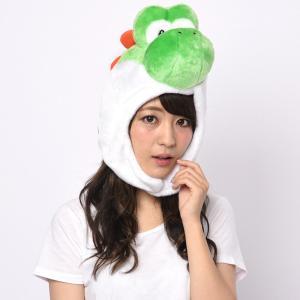 ハロウィン コスプレ 衣装 着ぐるみ キャップ メンズ レディース スーパーマリオ ヨッシー 仮装 コスチューム 帽子|mobadepa