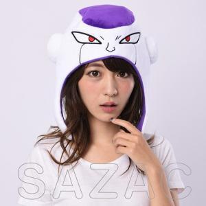 ハロウィン コスプレ 衣装 グッズ メンズ レディース ドラゴンボール フリーザ 仮装 コスチューム 帽子 着ぐるみCAP KOP-038|mobadepa