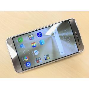 ◆キャンペーン《香港版SIMフリー》日本語対応 ASUS ZenFone 3 ZE520KL [ゴールド] 白ロム /中古/美品 mobax