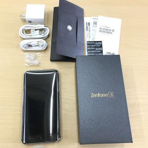 ◆キャンペーン正規国内版SIMフリー 中古/美品 ASUS ZenFone 3 ZE520KL 32GB [サファイアブラック] 白ロム ZE520KL-WH32S3 mobax