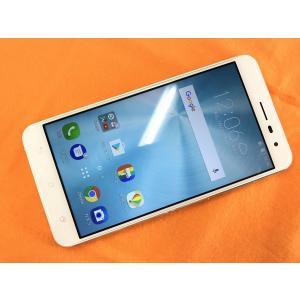 ◆キャンペーン《香港版SIMフリー》日本語対応 5.5インチモデル ASUS ZenFone 3  ZE552KL [ホワイト] 中古 白ロム mobax