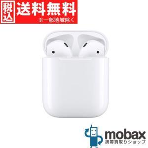 ◆キャンペーン【新品未開封品(未使用)】 第2世代 AirPods with Charging Case [ホワイト] イヤホン Bluetooth対応 マイク付 MV7N2J/A mobax