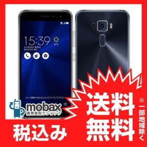 ◆キャンペーン※保証書未記入《国内版SIMフリー》【新品未使用】 ASUS ZenFone 3 ZE520KL [サファイアブラック] 白ロム ZE520KL-BK32S3 mobax