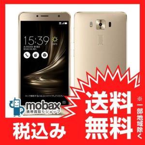 ◆キャンペーン《国内版SIMフリー》【新品未開封品(未使用)】 ASUS ZenFone 3 Deluxe ZS550KL [ゴールド] 白ロム ZS550KL-GD64S4 mobax