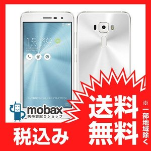 ◆キャンペーン《国内版SIMフリー》【新品未開封品(未使用)】ASUS ZenFone 3 ZE520KL [パールホワイト] 白ロム ZE520KL-WH32S3 mobax