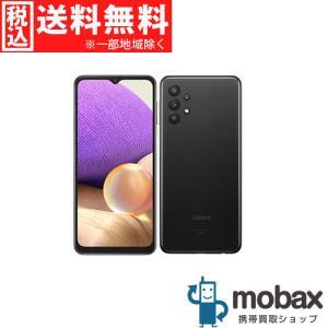 ◆キャンペーン《SIMロック解除済》※判定〇【新品未使用】 au Galaxy A32 5G SCG08 [オーサムブラック] 白ロム(SIMフリー)|mobax