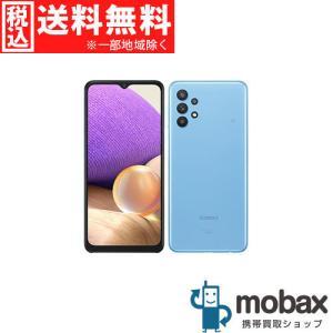 ◆キャンペーン※訳あり《SIMロック解除済》※判定〇【新品未使用】 au Galaxy A32 5G SCG08 [オーサムブルー] 白ロム(SIMフリー)|mobax