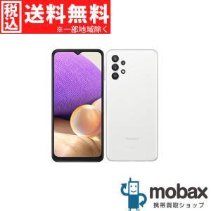 ◆キャンペーン※訳あり《SIMロック解除済》※判定〇【新品未使用】 au Galaxy A32 5G SCG08 [オーサムホワイト] 白ロム(SIMフリー)|mobax