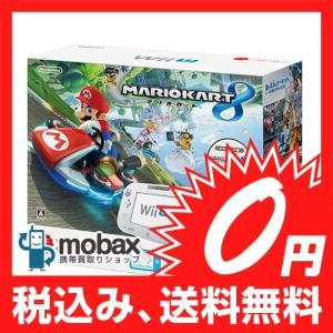 ★キャンペーン中★【新品未使用品】 NINTENDO Wii U すぐに遊べる マリオカート8セット(シロ)|mobax