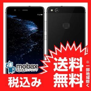 ★キャンペーン中★《国内版SIMフリー》【新品未使用】HUAWEI P10 Lite 3GB 32GB (WAS-LX2J [ブラック] デュアルSIM 白ロム|mobax