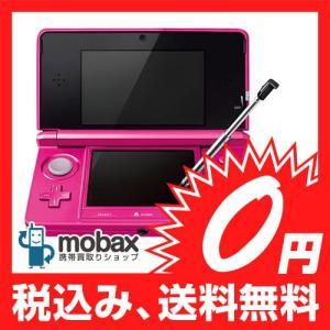 ★キャンペーン中★【新品未使用】 ニンテンドー3DS グロスピンク (型番:CTR-S-PDBA)|mobax