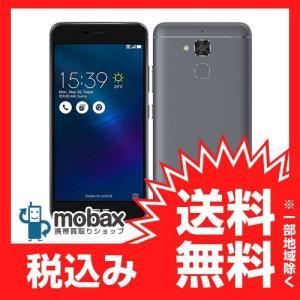 ★キャンペーン中★《国内版SIMフリー》 【新品未使用】 ASUS ZenFone 3 Max ZC520TL [グレー] 白ロム ZC520TL-GY16 楽天版 mobax