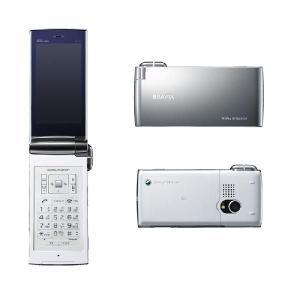★キャンペーン中★【新品未使用】au by KDDI BRAVIA Phone S004 プラチナホワイト 白ロム携帯電話 |mobax