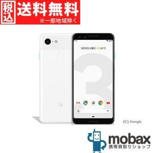 キャンペーン◆《SIMロック解除済》※判定〇SoftBank Pixel 3 64GB [クリアリーホワイト] Google G013B Android(SIMフリー)
