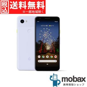 ◆キャンペーン《SIMロック解除済》※判定〇【新品未使用】 SoftBank Pixel 3a 64GB [Purple-ish] Google G020H Android(SIMフリー) mobax