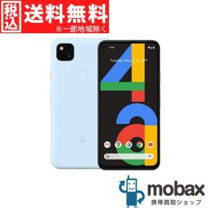 ◆キャンペーン◆《SIMロック解除済》※判定〇【新品未使用】 SoftBank Pixel 4a 128GB [ベアリーブルー] Google G025M Android(SIMフリー)グーグル mobax