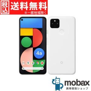 ◆キャンペーン◆《SIMロック解除済》※判定〇【新品未使用】 SoftBank Pixel 4a 5G 128GB [クリアリーホワイト] Google G025H Android(SIMフリー)グーグル mobax