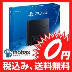 ★キャンペーン中★※保証書未記入【新品未使用】SONY PlayStation4 [HDD 500GB]ジェットブラック(CUH-1200AB01) PS4|mobax