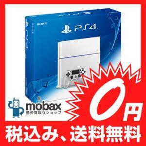 ◆キャンペーン※保証書未記入【新品未使用】SONY PlayStation4 [HDD 500GB]グレイシャーホワイト(CUH-1200AB02) PS4|mobax
