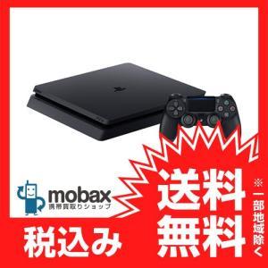 ★キャンペーン中★※保証書未記入【新品未使用】SONY PlayStation4 [HDD 500GB]ジェットブラック(CUH-2000AB01) PS4|mobax